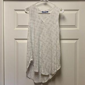 V neck tank top blouse